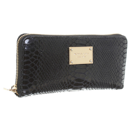 "Michael Kors Wallet ""Jet Set Continental ZA Black"""