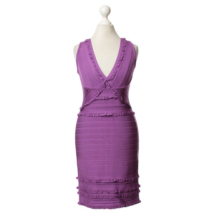 Herve Leger Small ruffle dress
