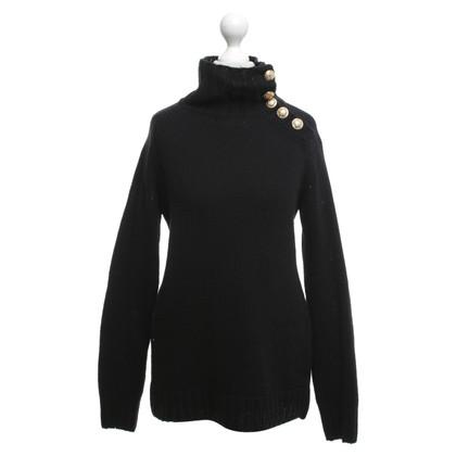 Balmain maglione maglia in nero