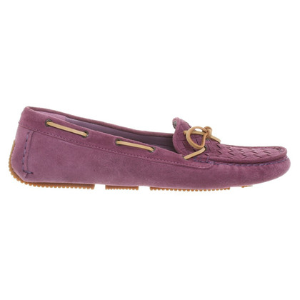 Bottega Veneta Wildleder-Slipper