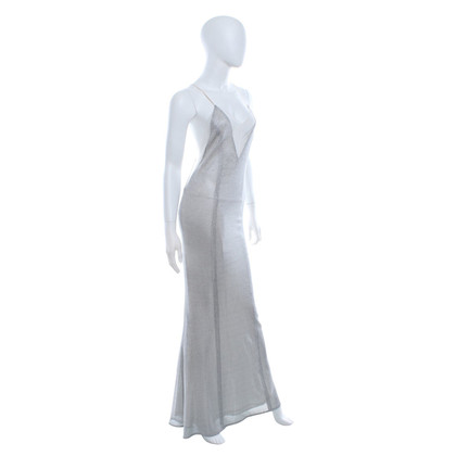 Galvan Dress in silver color