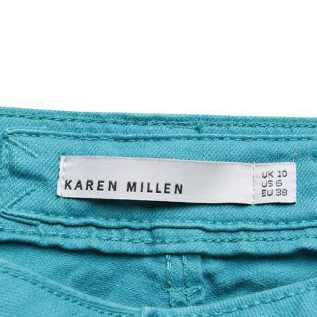 Karen Millen Jeans in Türkis Türkis Spielraum 2018 Neu Spielraum Limitierte Auflage ED18m