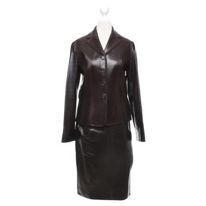 Céline Costume in marrone scuro