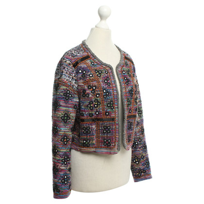 French Connection Jacket with sequin trim