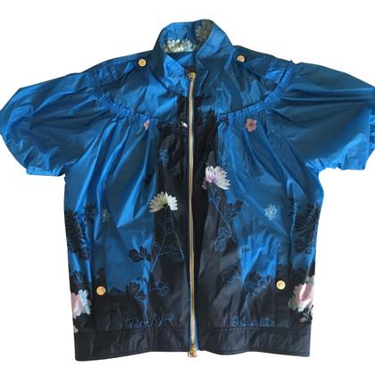 Roberto Cavalli Jacket in blue / black
