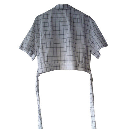 MSGM Checkered blouse