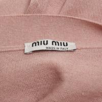 Miu Miu Cardigan in cashmere / silk