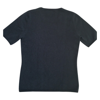 Allude Sweater with half-sleeves