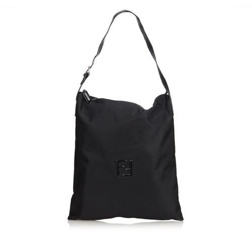 d3ec08011a62 Fendi Nylon Tote Bag - Second Hand Fendi Nylon Tote Bag buy used for ...