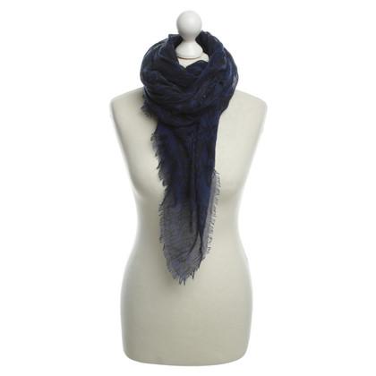Armani Label-print sjaal