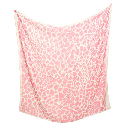 Friendly Hunting Cloth in pink / white