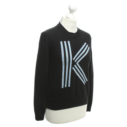Kenzo Knitted sweater with logo