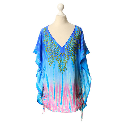 Hale Bob Tunika-Bluse im Batik-Stil