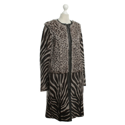 Joseph Fur coat in animal design