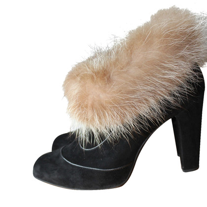 Tod's Ankle boots with fur