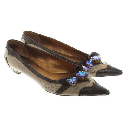 Miu Miu Slipper with gemstones