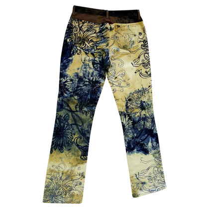 Just Cavalli trousers with sample print