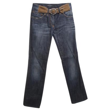 Dolce & Gabbana Jeans met riem toepassing