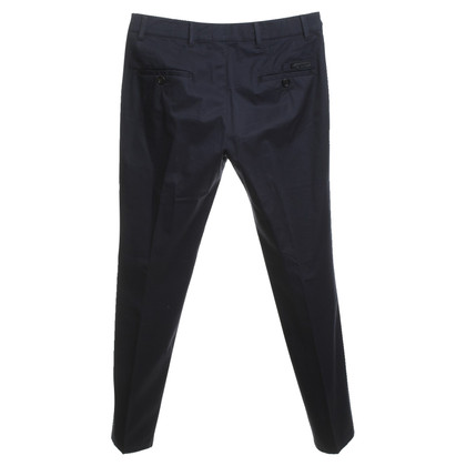 Prada trousers in dark blue