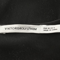 Viktor & Rolf for H&M shirt de soie en noir