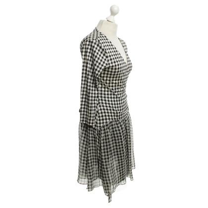 Diane von Furstenberg Kleid in Schwarz-Weiß