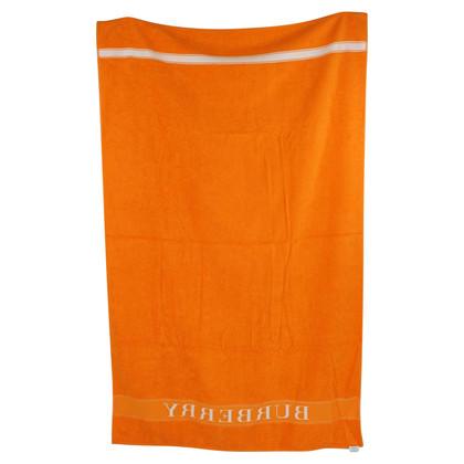 Burberry Beach towel in orange