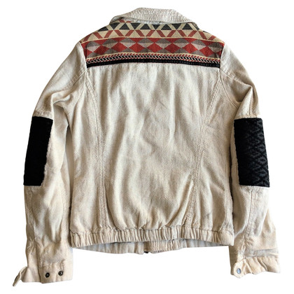 Maison Scotch Jas met etnisch patroon