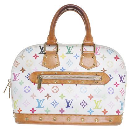 "Louis Vuitton ""Alma"" monogram of Multicolore canvas bag"