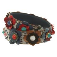 Fendi Carrying straps made of snakeskin