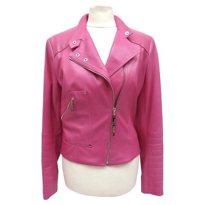 Christian Dior biker jacket in Pink