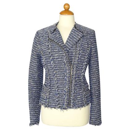 Michael Kors Bouclé jacket in blue