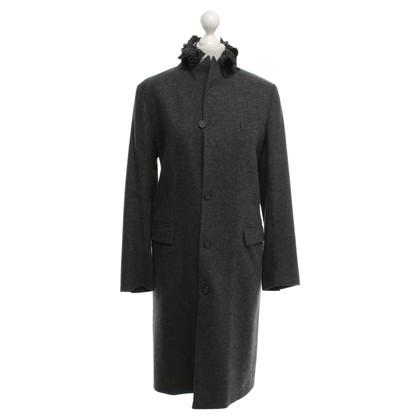 Ermanno Scervino cappotto lungo in grigio scuro