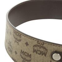 MCM Waist belt with logo design
