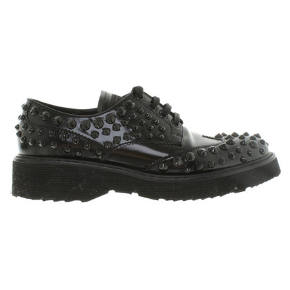 Prada Lace-up shoes with studs