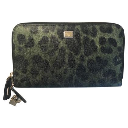 Dolce & Gabbana clutch con disegno animale