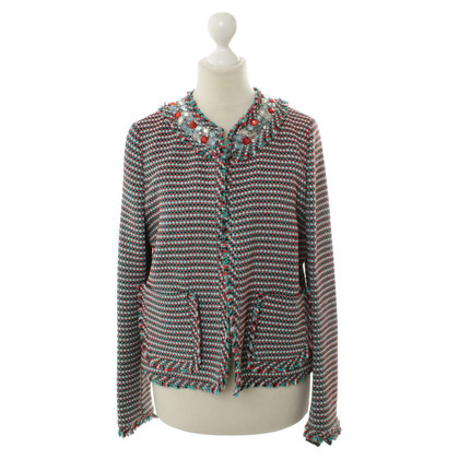 Pinko Blazer with woven patterns in stained