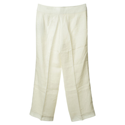 Rena Lange Linen trousers in cream