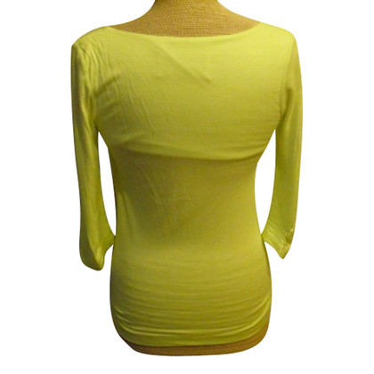 By Malene Birger Neon yellow shirt