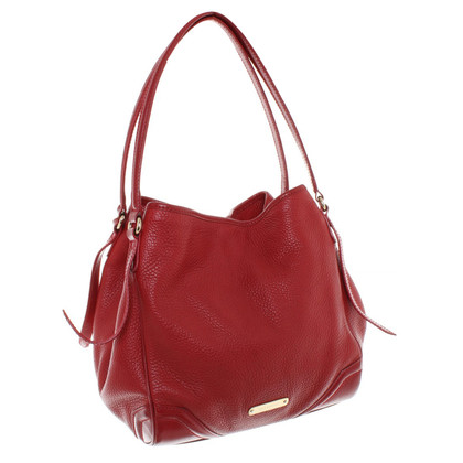 Burberry Handbag in red