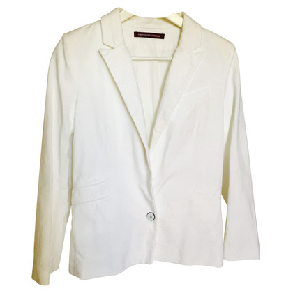 Comptoir des Cotonniers Witte katoenen jas