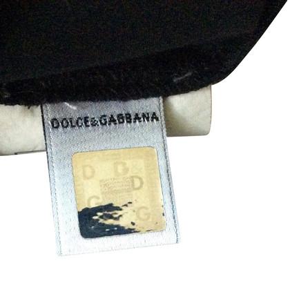D&G Black blouse