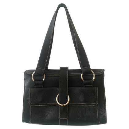 Furla Black leather handbag