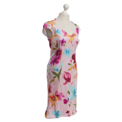Escada Silk dress with colorful pattern