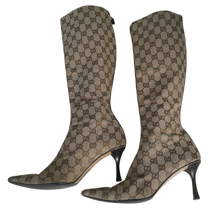 Gucci Boots with Guccissima patterns
