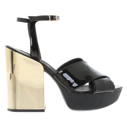 Hogan Platform sandals in bicolour