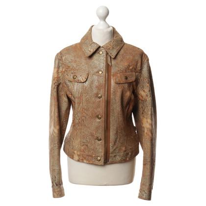 Jean Paul Gaultier Leather jacket in Brown