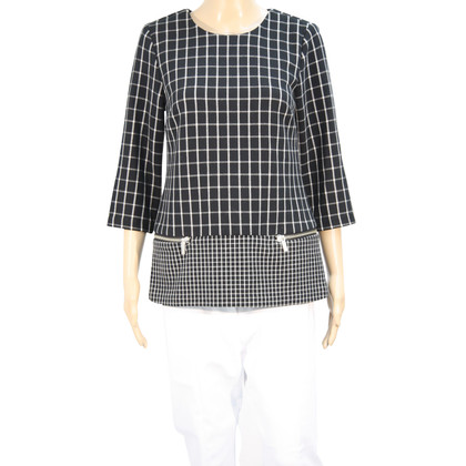 Michael Kors Checkered top in dark blue