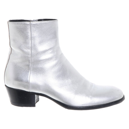 Maison Martin Margiela Ankle boots in silver