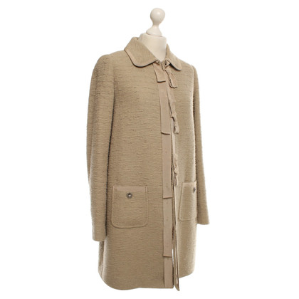 Twin-Set Simona Barbieri Coat in beige