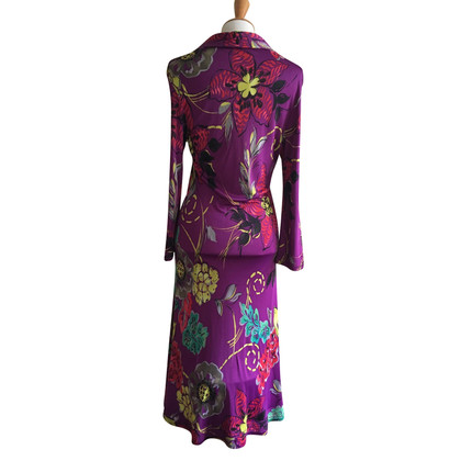 Etro Dress colorful silk jersey